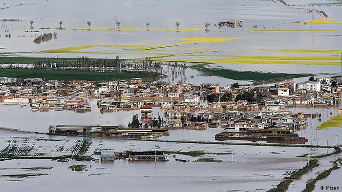 Iran_Record_Flood_Pictorial-6 شهرستان گنبد تخریب جاده بین مزارع